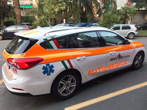 Albisola, il 5 ottobre la Croce Verde inaugura una nuova automedica