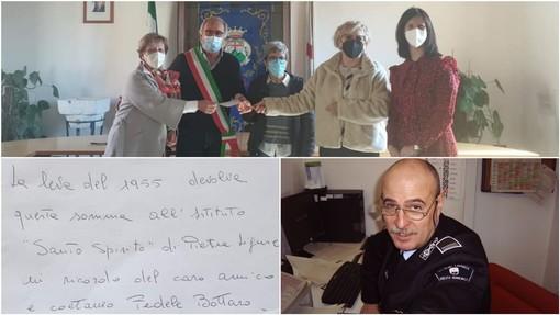 Pietra, dalla leva del '55 una donazione a favore della RP 'Santo Spirito' nel ricordo di Fedele Bottaro