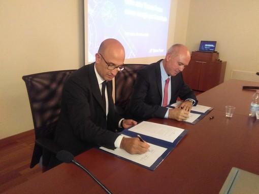 Tirreno Power si rifà il look: siglato l'accordo con Vernazza Autogru (FOTO e VIDEO)