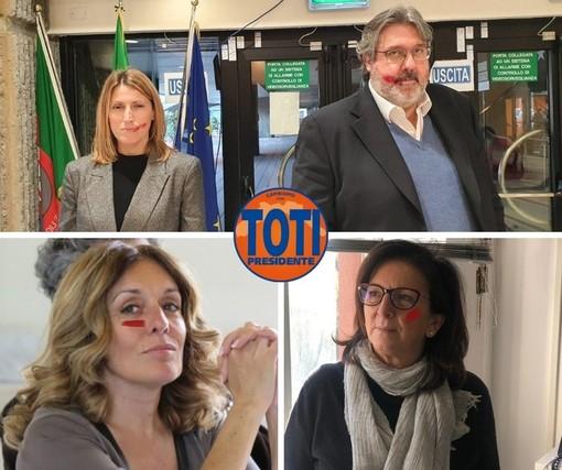 """'Cambiamo! Con Toti"""" aderisce alla giornata internazionale per l'eliminazione della violenza contro le donne"""