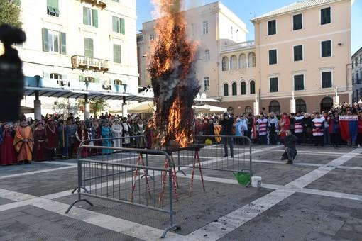 Savona, Cunfögu celebrato in forma ridotta e a porte chiuse