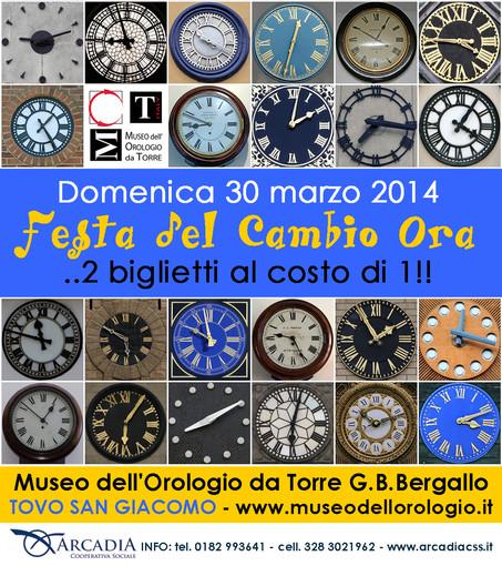 Tovo San Giacomo: domenica Festa del Cambio Ora al museo dell'orologio