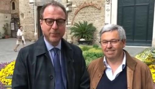 Albenga, per Calleri l'endorsement di Giorgio Mulé