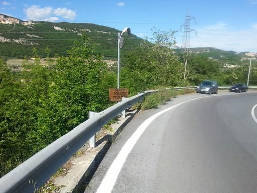 Finale Ligure, problemi di sicurezza allo svincolo autostradale: a breve, cambio di viabilità