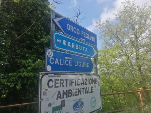 Rischio tir incastrati sulla Sp27 tra Calice e Feglino: dalla Provincia una nuova cartellonistica