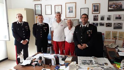 Alassio, la Croce Rossa rende omaggio al vice brigadiere dei carabinieri Mario Cerciello Rega (FOTO)