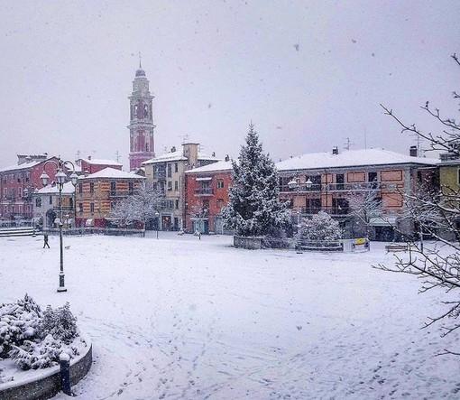 Val Bormida, è arrivata la neve: gli accumuli maggiori nelle zone più in alto (FOTO e VIDEO)