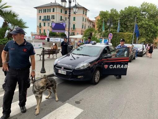 Controllo del territorio dei carabinieri della Compagnia di Alassio: 150 persone identificate, 100 veicoli controllati e 10 contravvenzioni