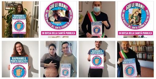 """Una intensa e partecipata campagna """"virtuale"""" per salvare il punto nascite al Santa Corona di Pietra Ligure"""