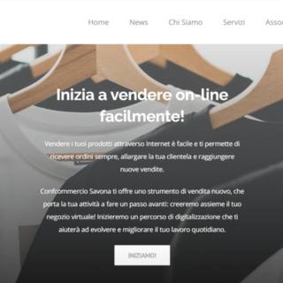 Una piattaforma di E-Commerce su Confcommercio Savona per vendite e acquisti delle imprese e dei clienti
