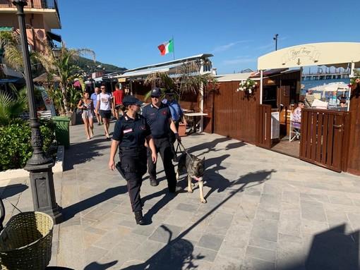 Controlli ad Alassio effettuati le scorse estati dai Carabinieri