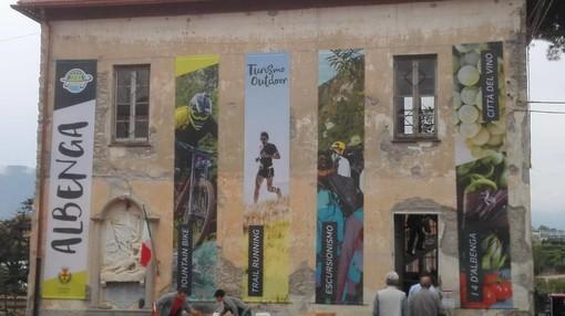 Albenga, iniziati i lavori per la casa dell'outdoor in frazione Campochiesa