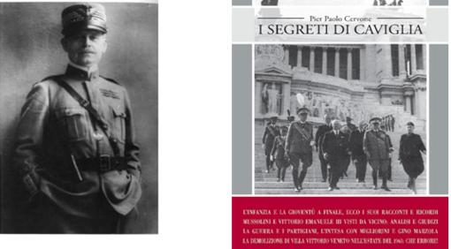 """Giustenice: presentazione del libro """"I segreti di Caviglia"""" di Pier Paolo Cervone"""