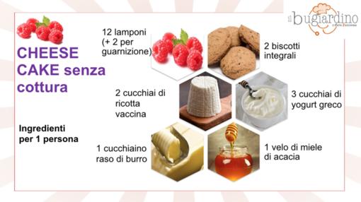 Felici e Veloci, le nuove (video)ricette di Fata Zucchina: cheesecake al lampone