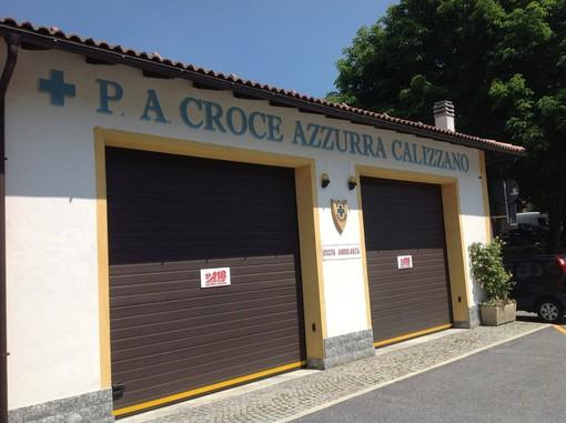 Calizzano, la Croce Azzurra inaugura due nuovi mezzi