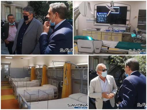 Santa Corona: nuovo angiografo cardiologico e sei posti letto in più per la medicina d'emergenza al Pronto Soccorso