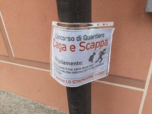 """Savona: un volantino polemico contro i proprietari di cani """"sporcaccioni"""""""