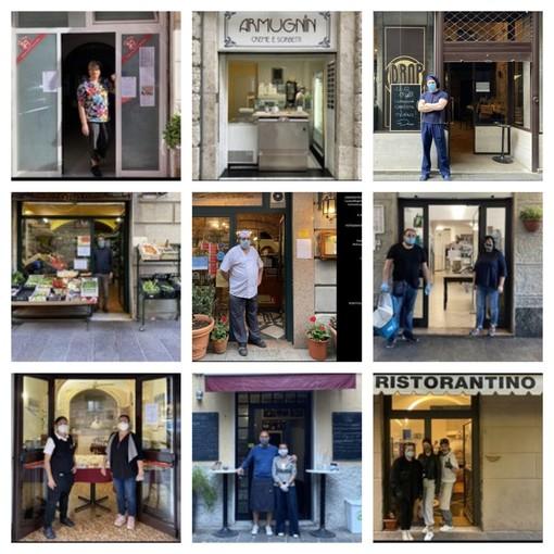 Savona, la riapertura di bar e ristoranti diventano materiale d'esame grazie alle fotografie di una studentessa del Campus (FOTO)