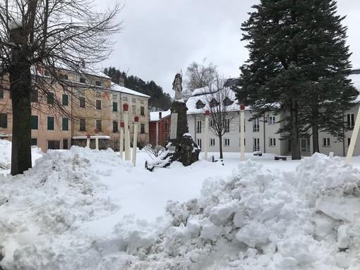 """Calizzano, la """"Svizzera della Liguria"""" si prepara all'allerta neve. Il sindaco Olivieri: """"Siamo pronti"""""""