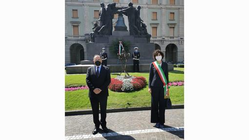 Savona, il sindaco Caprioglio e il Prefetto Cananà ricordano le vittime del terrorismo