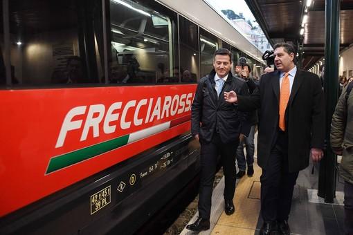 Genova-Milano-Venezia: al via il nuovo collegamento Frecciarossa
