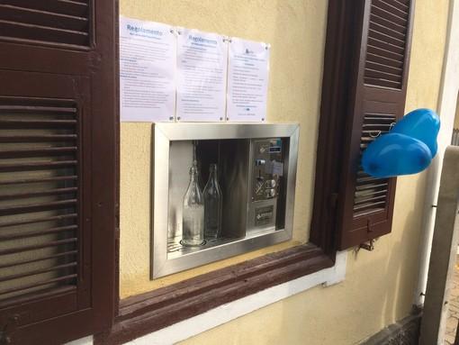 A Pietra Ligure piace la casetta dell'acqua? Sembra di sì: in un anno consumati più di 168mila litri d'acqua