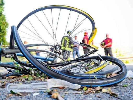 Ceriale: ciclista investito sull'Aurelia, trasportato in codice giallo in Ospedale