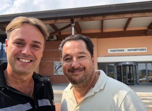 """Sopralluogo all'Aeroporto di Villanova. Il consigliere provinciale Ciangherotti (FI): """"Linea aerea Villanova- Roma per aiutare la Liguria"""""""