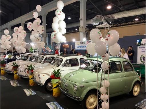 Il Fiat 500 Club Italia alla Fiera Auto e Moto d'epoca di Padova