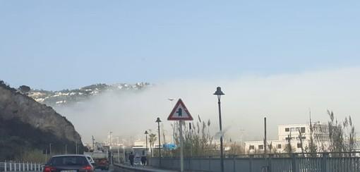 """Il """"caligo"""" invade la provincia di Savona da Levante a Ponente"""