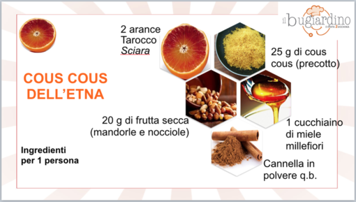 Felici e Veloci: il cous cous dell'Etna
