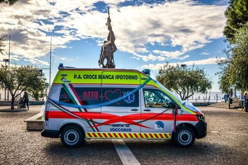 """Visita alla Croce Bianca del sottosegretario Costa coi membri di """"Insieme per Spotorno"""", la pubblica assistenza: """"Noi apolitici"""""""