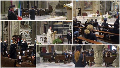 Savona, in Duomo la Polizia di Stato celebra il patrono San Michele Arcangelo (FOTO)