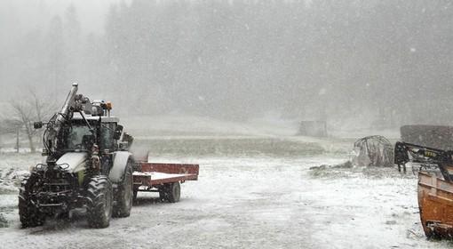 Maltempo, in Val Bormida allerta gialla per neve: crollo delle temperature
