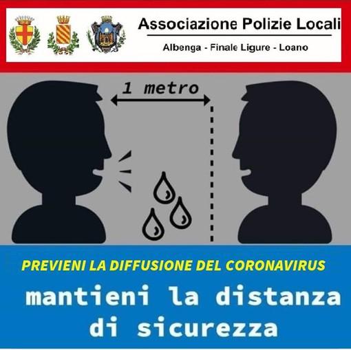 COVID-19, il Comune di Albenga richiama il Decreto del Presidente del Consiglio dei Ministri del 1 marzo 2020