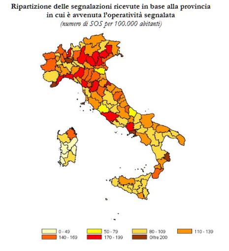 """Contrasto del riciclaggio e del finanziamento del terrorismo, l'analisi dei dati: Liguria """"rossa"""""""