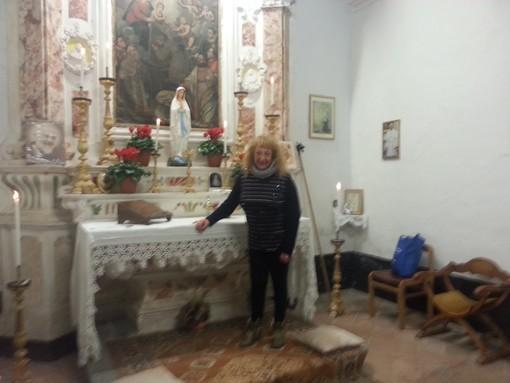 Tradizioni: nella Cappella del Carmine a Bastia d'Albenga si celebra la messa di Santa Lucia