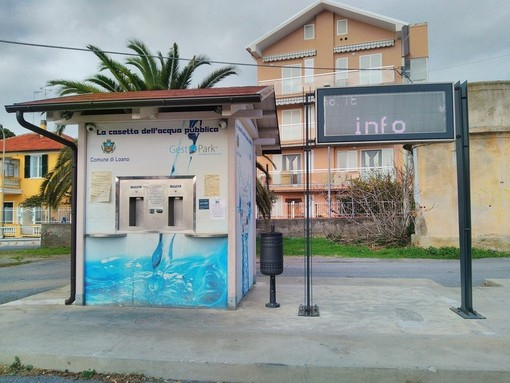 Loano, torna in funzione la Casetta dell'Acqua