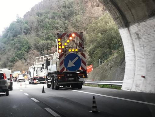 I cantieri della settimana lungo l'A6 e A10