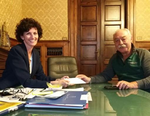 Raduno Alpini Savona: i ringraziamenti del sindaco Caprioglio