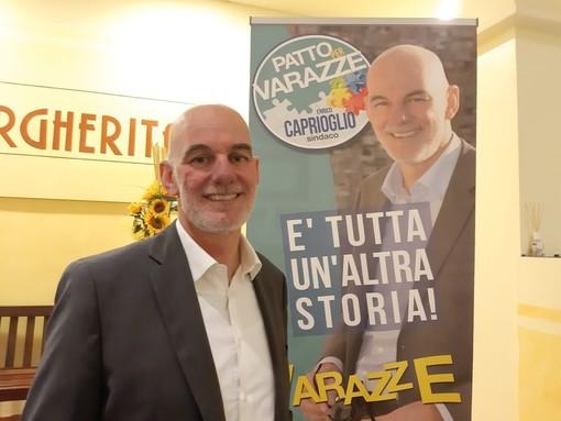 """Varazze, il candidato sindaco Enrico Caprioglio e i punti del programma: """"Miglioriamo la citta con pianificazione"""""""