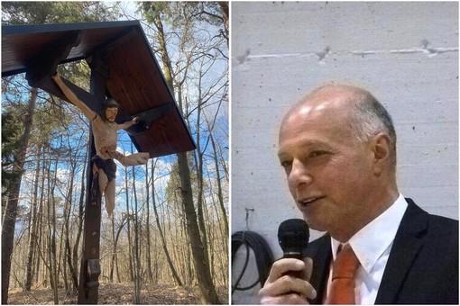 Crocefisso vandalizzato, il sindaco di Cosseria ringrazia per la solidarietà dimostrata la comunità araba