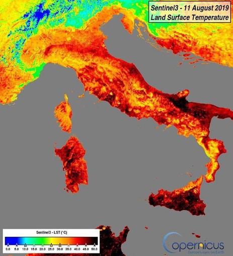 Il Ponente ligure tra le zone più fresche d'Italia negli ultimi giorni