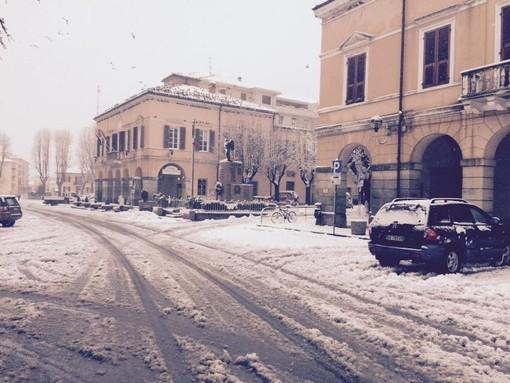 Smette di nevicare in Val Bormida, ma ora preoccupano le strade gelate: attenzione automobilisti