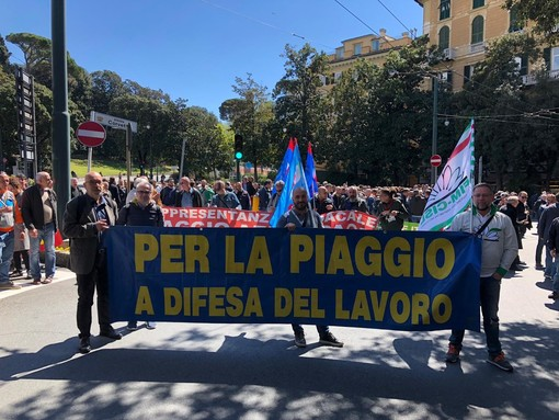 """Piaggio Aerospace, Fim Fiom Uilm Genova e Savona: """"Che il Governo non pensi a rinviare ancora l'incontro"""""""
