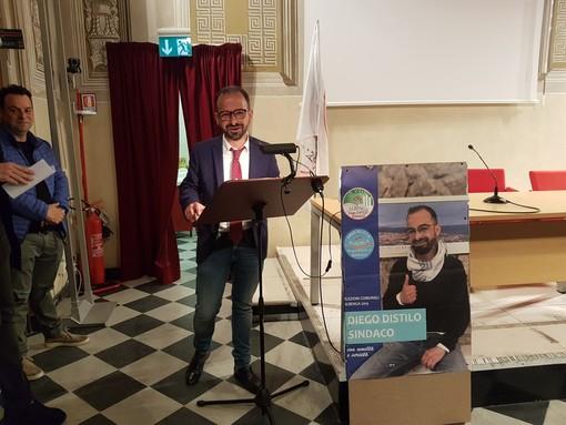 """Elezioni Albenga: il candidato Distilo chiude la campagna elettorale: """"Siamo persone comuni che amano la città e vogliamo migliorarla"""""""