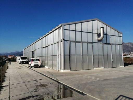 Albenga nuova era in tema di depurazione: avviato l'impianto di pretrattamento dei rifiuti (FOTO)