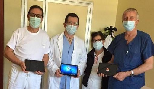 Nella foto, il dottor Paolo Marin, secondo da sinistra