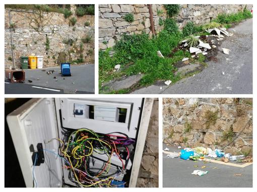 Vandalismo e persecuzioni contro i condomini: signora benestante di Alassio ai domiciliari (FOTO)