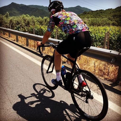 Daniel Moretto in allenamento (foto tratta dal suo profilo Facebook)